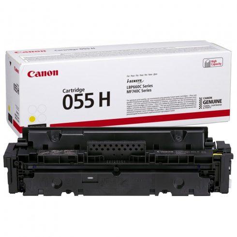 Canon CRG055H Toner Yellow 5,9K (EREDETI)